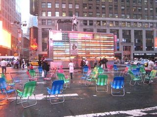 Times Sq lawn chair