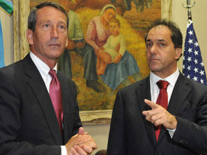 Sanford and Scioli