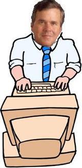 Blogging_bush